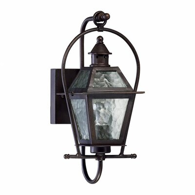 Quorum French Quarter 1 Light Outdoor Wall Lantern