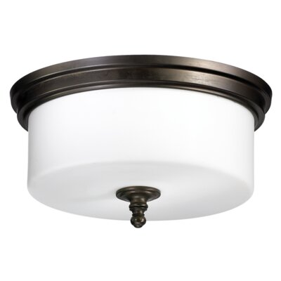 Rockwood 3 Light Flush Mount