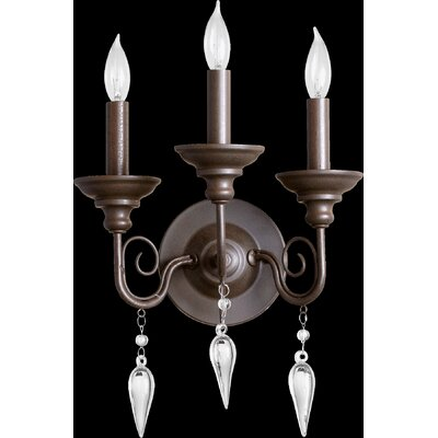 Quorum Vesta 3 Light Wall Sconce
