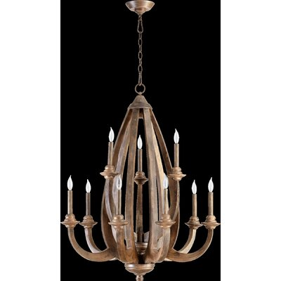 Quorum Telluride 9 Light Chandelier