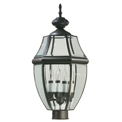 Quorum Carrington 4 Light Post Lantern