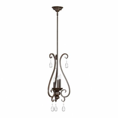 Quorum Anders 3 Light Mini Pendant