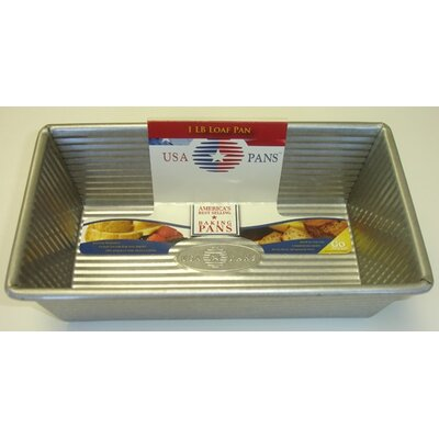USA Pans 1 lb. Loaf Pan with Americoat