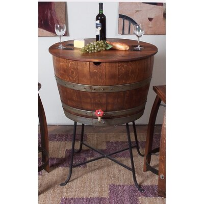 2 Day Designs, Inc Leather Stave Stool and Barrel Cooler