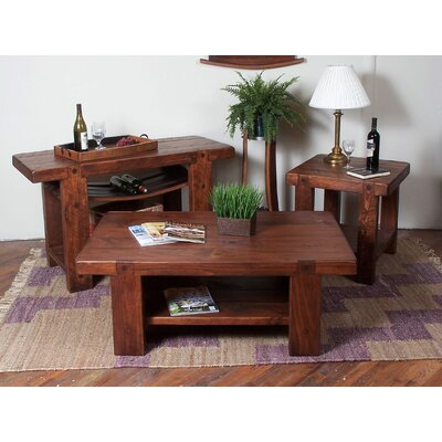 2 Day Designs, Inc Russian River Coffee Table Set