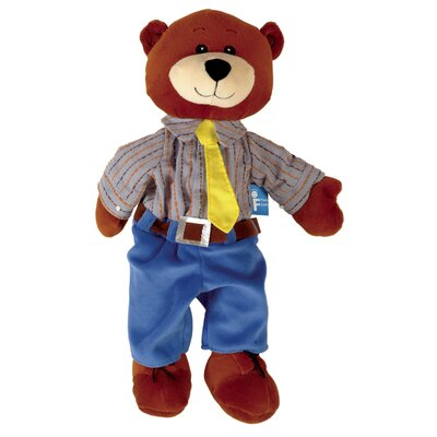 The Original Toy Company Tellatale Puppet Daddy Bear