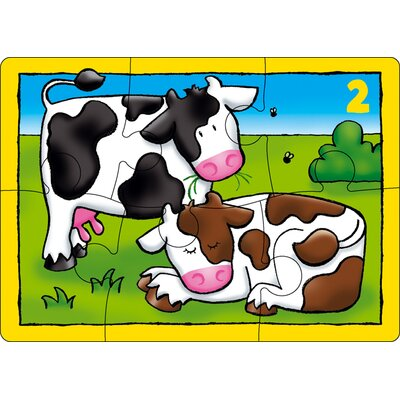 The Original Toy Company Farm Four In A Box Puzzle