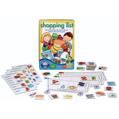 The Original Toy Company Shopping List Game