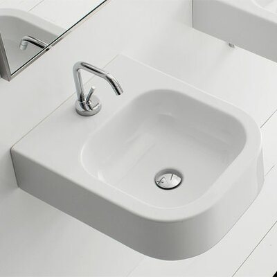Next Wall Mounted or Above Counter Bathroom Sink - Art. 8047/B