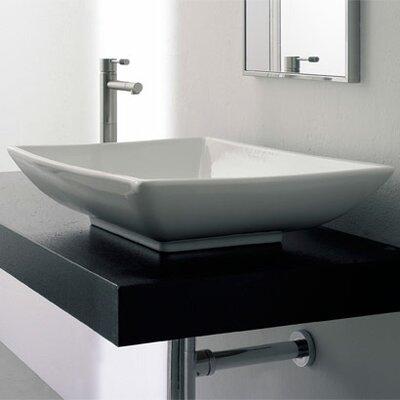 Scarabeo by Nameeks Kylis Above Counter Bathroom Sink