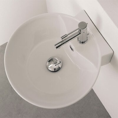 Scarabeo by Nameeks Sfera Wall Mounted Bathroom Sink