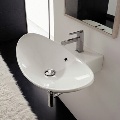 Zefiro Wall Mounted Bathroom Sink - Art. 8204