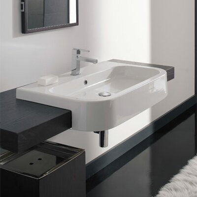 Scarabeo by Nameeks Next Semi Recessed Bathroom Sink