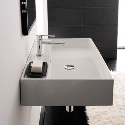 Scarabeo by Nameeks Teorema Wall Mounted Bathroom Sink