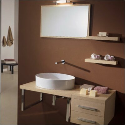 "Scarabeo by Nameeks Brio 29.4"" Wall Mounted Bathroom Vanity"