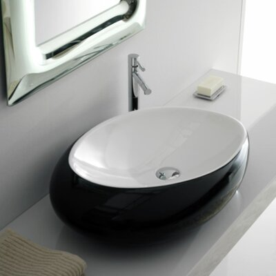 Scarabeo by Nameeks Moai Vessel Sink