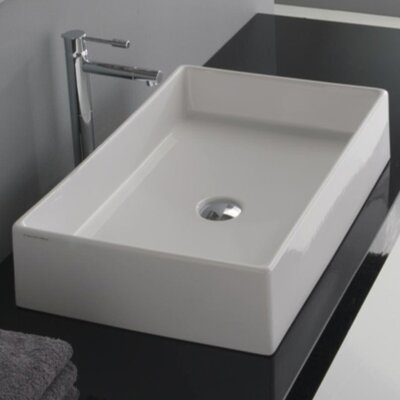 Teorema Rectangular Vessel Bathroom Sink - 8031/60