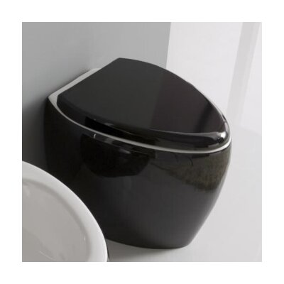 Scarabeo by Nameeks Moai Floor-Mounted Elongated 1 Piece Toilet