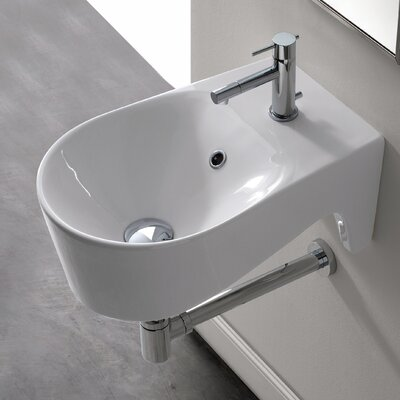 Bijoux U-Shaped Wall Mount Bathroom Sink - Bijoux ART 8502