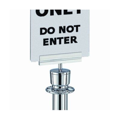 Tensator Sign Bracket for Acrylic Signs
