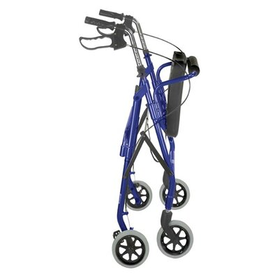 "Briggs Healthcare Ultra Lightweight Aluminum Rollator with 6"" Wheels"