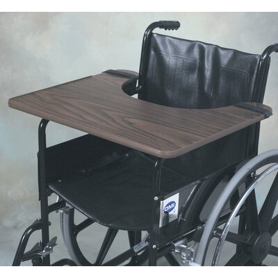 Briggs Healthcare Hardwood Wheelchair Tray