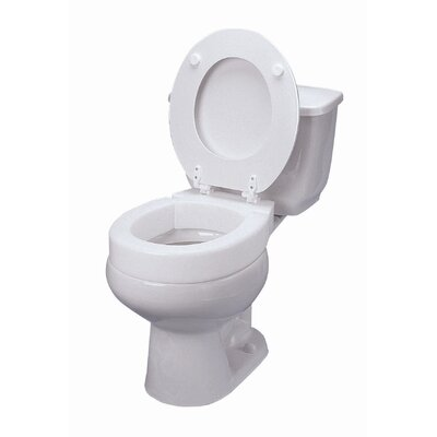 Briggs Healthcare Elongated Hinged Toilet Seat