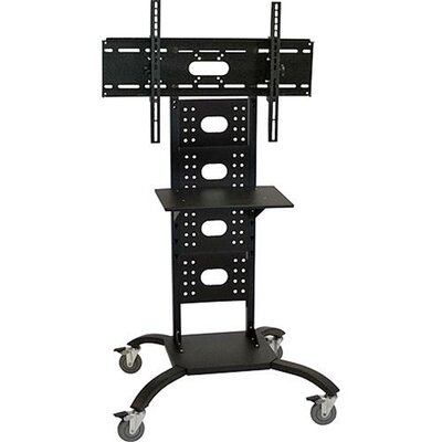 "H. Wilson Company 51"" Flat Panel Stand (Includes WFST) with 4"" Casters (32"" - 50"" Screens)"