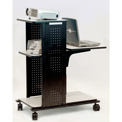 H. Wilson Company 4-Shelf Presentation Station with Cabinet