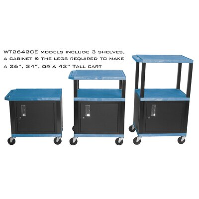 H. Wilson Company Tuffy Cabinet Cart