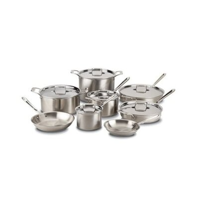 All-Clad Master Chef 2 14-Piece Cookware Set