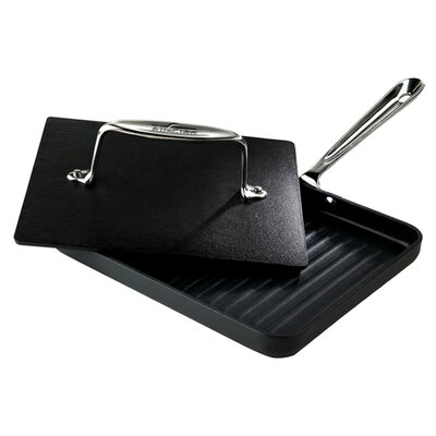"All-Clad Specialty Cookware 8"" x 10"" Non-Stick Panini Pan"