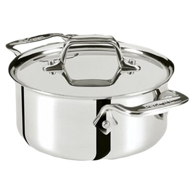 All-Clad Specialty Cookware 0.5-qt. Round Dutch Oven