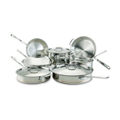 Copper Core 14-Piece Cookware Set