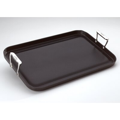 "All-Clad Hard Anodized 13"" x 20"" Nonstick Grande Griddle"