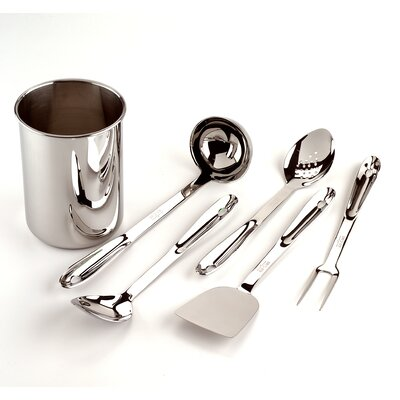 All-Clad All Professional Tools 6 Piece Kitchen Tool Utensil Set