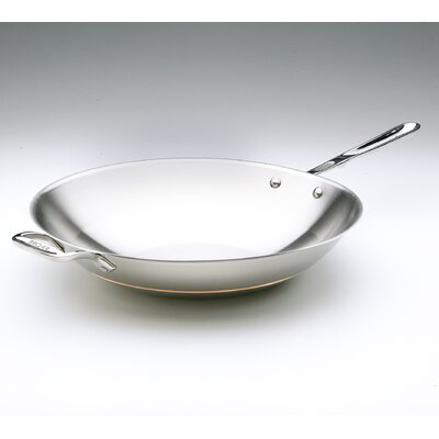 "All-Clad Copper Core 14"" Open Stir Fry Pan"