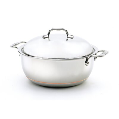 All-Clad Copper-Core 5 1/2-Qt. Round Dutch Oven
