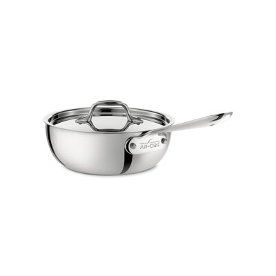 All-Clad Stainless Steel Saucier with Lid