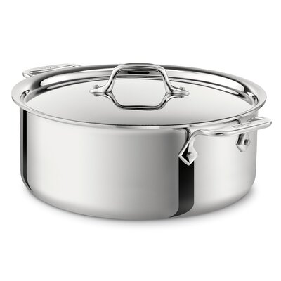 All-Clad Specialty Cookware 6-qt. Pasta Pot with Lid