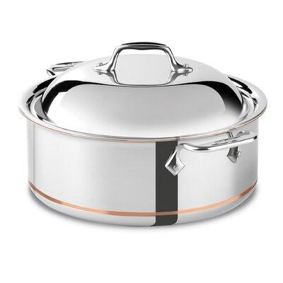 All-Clad Copper Core 6-qt. Round Roaster Braiser