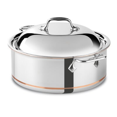 All-Clad Copper Core 6-qt. Round Roaster
