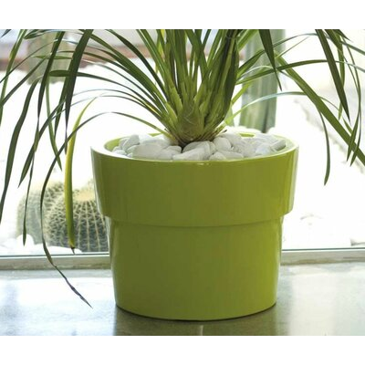 Vondom Fang Vaso Lacquered Round Flower Pot Planter