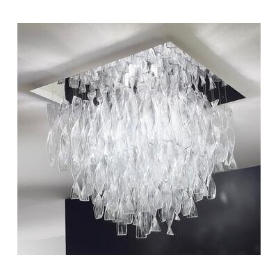 Axo Light Avir Double Layered 4 Light Semi Flush Mount