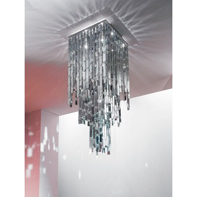 Axo Light Glitter 5 Light Chandelier