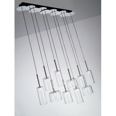 Axo Light Spillray 10 Light Chandelier