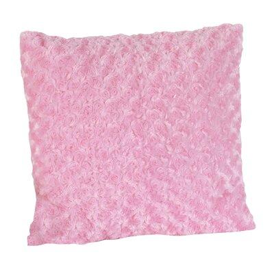 Madison Decorative Pillow with Minky Swirl