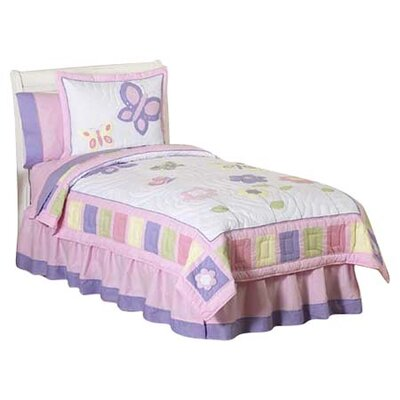 Sweet Jojo Designs Butterfly Pink and Purple Kid Bedding Collection
