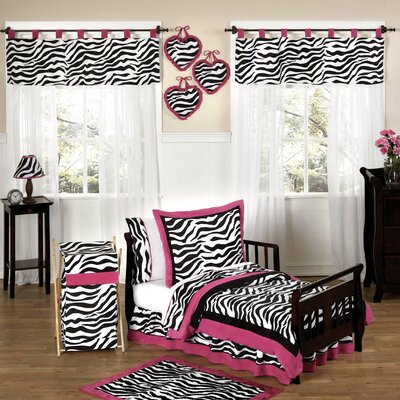 Sweet Jojo Designs Funky Zebra Toddler Bedding Collection