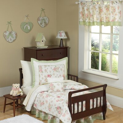 "Sweet Jojo Designs Riley""s Roses Toddler Bedding Collection"